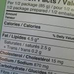 Informacja o wartości odżywczej